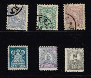 IRAN PERSIA STAMP COLLECTION LOT  #T2