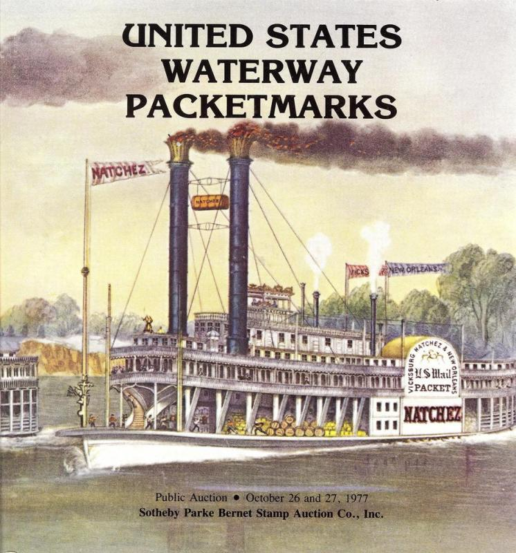 Sotheby's: Sale # 4037A  -  United States Waterway Packet...