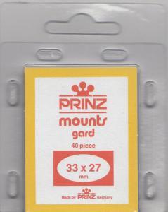 PRINZ 33X27 (40) BLACK MOUNTS RETAIL PRICE $3.99