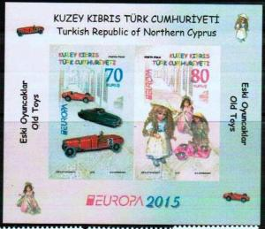 TURKISH CYPRUS 2015 - EUROPA - OLD TOYS