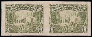 Canada / Newfoundland Scott 100a Gibbons 113 Variety Mint Stamp