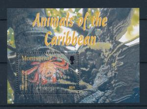 [40450] Montserrat 2003 Animals Crab Tree MNH Sheet