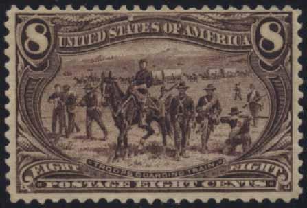 US Scott #289 Mint, FVF, NH