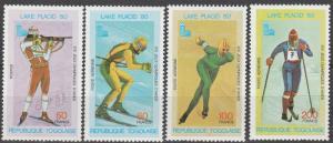 Togo #1049, C409-11    MNH  CV $3.00  (S7654)