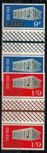 Ireland Scott 270-271 Mint NH gutter pairs