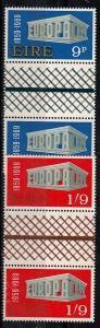 Ireland Scott 270-271 Mint NH gutter pairs