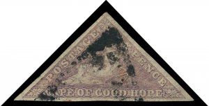 Cape of Good Hope Scott 5a Gibbons 7b Used Stamp