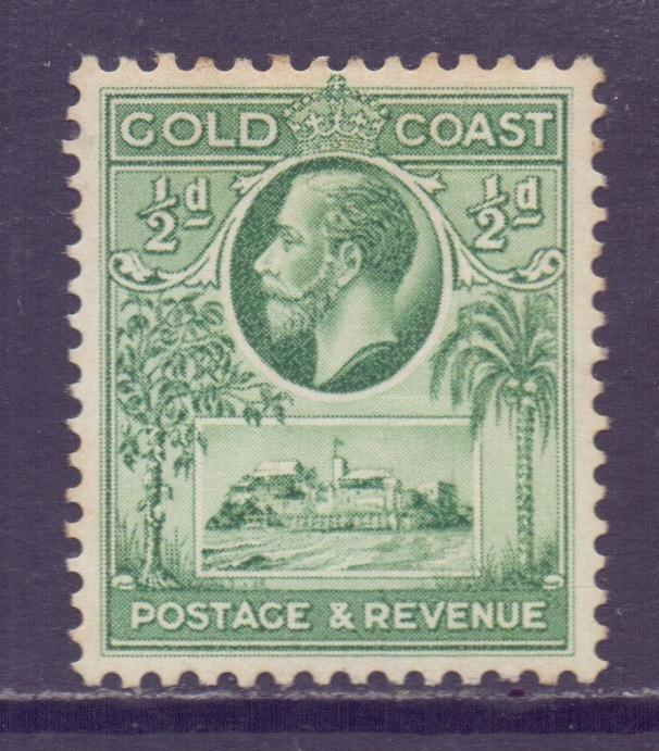 Gold Coast Scott 98 - SG103, 1928 George V 1/2d MH*