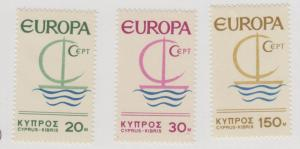 CYPRUS 275 - 277  MINT NEVER HINGED OG ** NO FAULTS EXTRA FINE - T755