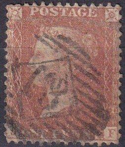 Great Britain #20  F-VF Used CV $11.50  (Z5506)