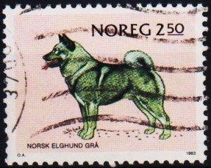 Norway. 1983 2k50 S.G.910 Fine Used
