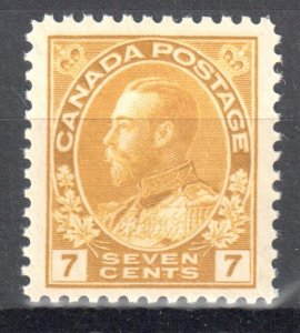 Canada Mint XF NH #113 Perfect Centering Admiral -- Choice