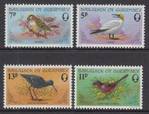 Guernsey 165-168 MNH VF