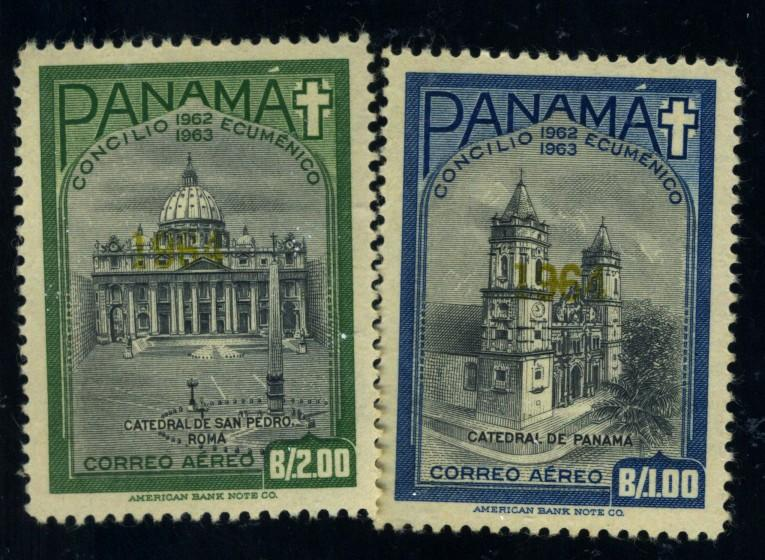 Panama #C320-1 MINT VF OG NH Cat$21