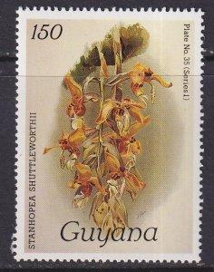 Guyana (1985) #1065 MNH; Orchid