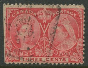 STAMP STATION PERTH Canada #53 QC Jubilee Definitive Used - CV$3.00