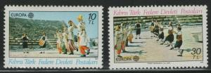 TURKISH CYPRUS MNH Scott # 98-99 Europa (2 Stamps) (1)