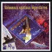 HAITI SHEET CINDERELLA SPACE SPACESHIPS SPACECRAFT AVIATION