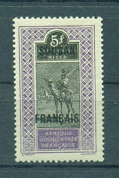 French Sudan sc# 49 mnh cat value $12.50