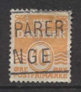 Denmark - Scott 228 - Definitive Issue -1933 - Used - Single 10o Stamp
