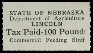 U.S. NEBRASKA ST. REVS FE7  Mint (ID # 28728)