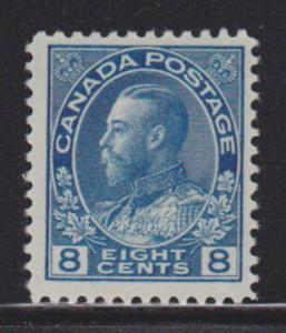 Canada 115 VF -OG-MH nice color ! scv $ 33 ! see pic !