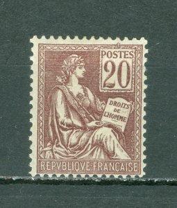 FRANCE #118(YT 113) TYPE 1...MINT...$55.00