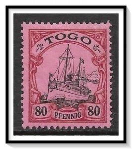 Togo #15 Kaiser's Yacht Hohenzollern MH
