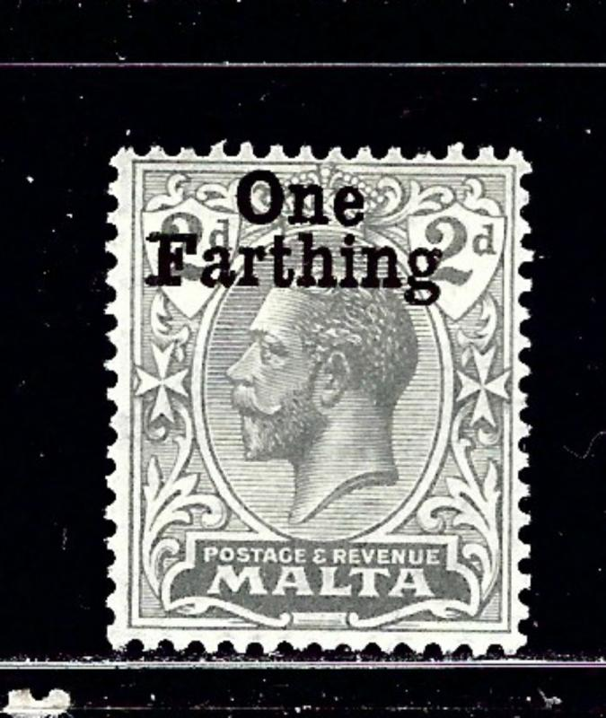 Malta 97 MH 1922 surcharge