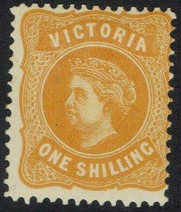 VICTORIA 1901 QV NO POSTAGE 1/-