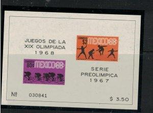 Mexico SC 985a Olympics MNH (3euy)