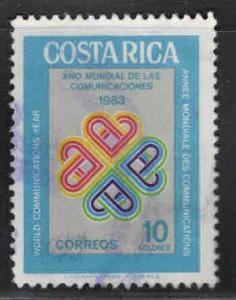 Costa Rica Scott 278 used stamp