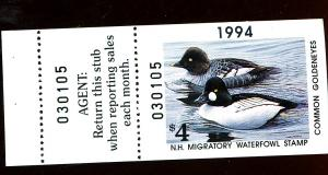 NH Duck #12 MINT F-VF  Cat $10