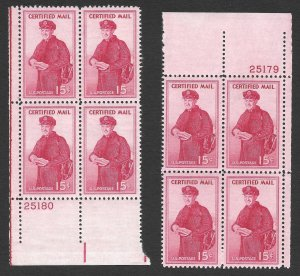 Doyle's_Stamps: MNH Certified Delivery PNBs, Scott #FA1**