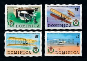 [101623] Dominica 1978 Aviation aircrafts Wright  MNH