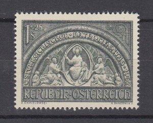 J29501, 1952 austria set of 1 mh #b279 art