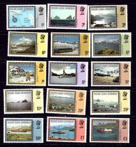 Falkland Is Dep 1L38-52 MNH 1980 Definitive set