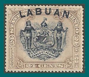 Labuan 1897 Arms, p15 mint  #82,SG97a