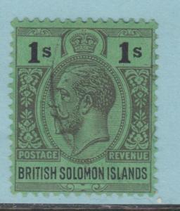 BRITISH SOLOMON ISLANDS 52 NO FAULTS EXTRA FINE !