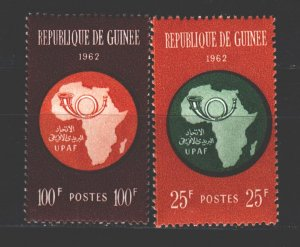 Guinea. 1962. 105-6. African Postal Union. MNH.