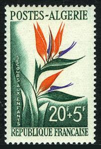 Algeria B95, MNH. Bird-of-Paradise flower, 1958