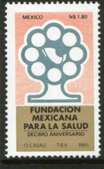 MEXICO 1945, Mexican Health Foudation. MNH. VF (69)