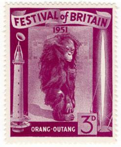 (I.B-CK) Cinderella Collection : Festival of Britain 3d (Orang-Outang)