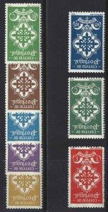 Portugal 1940 SC 579-586 MNH SCV$ 190.00 Set