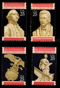 USA Scott 2412-2415 MNH** US constitution bicentennial set