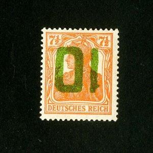 Poland Stamps # 78 VF Rare OG LH Inverted Catalog Value $5,000.00 Signed