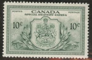 CANADA Scott E11 MH* 1946 Special Delivery stamp CV $4