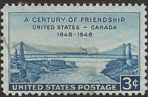 # 961 USED UNITED STATES-CANADA FRIENDSHIP