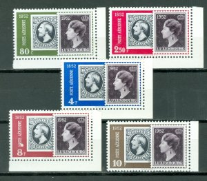 LUXEMBOURG STAMPS on STAMPS #C16-20..SET...MNH...$85.00