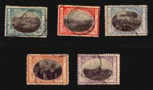 Morocco local post 1917 fantasy stamps mentioned in Chapier book